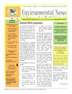 Environmental Newsletter – August 2019