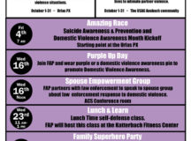 USAG Ansbach recognizes Domestic Violence Awareness Month