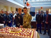 7th ATC and Ansbach leadership celebrate Thanksgiving with Soldiers and host nation guests