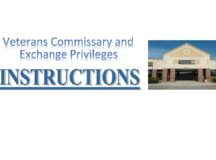 Veterans' commissary and exchange privileges