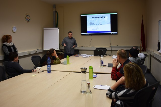 USAG Ansbach Housing emphasizes customer service training for employees