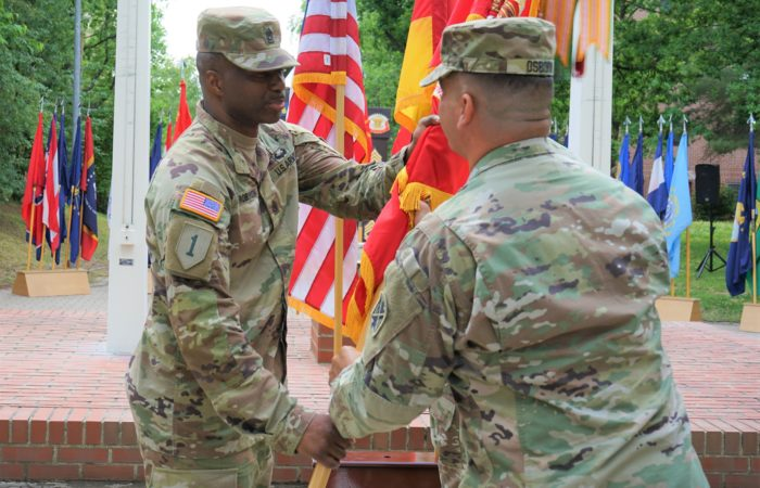 'We Attack' regiment welcomes new enlisted leader