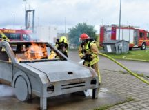 Ohio firefighter trains with German firefighters in Ansbach