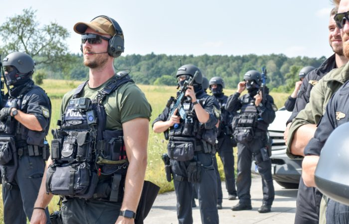 Host nation quick reaction unit trains at USAG Ansbach training area
