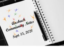 Ansbach Community Notes – Sept. 15, 2021